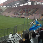 Photo taken at Stadio Nereo Rocco by Michela Z. on 4/27/2013