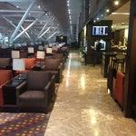 Photo taken at Plaza Premium Lounge by utsav M. on 11/9/2013