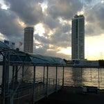 Photo taken at ท่าเรือพายัพ (Payap Pier)  N18 by Theparit A. on 8/27/2013