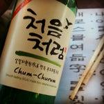 Photo taken at Huwon Restaurante Coreano by Enrique O. on 2/13/2013