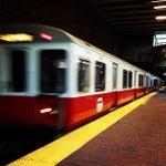 Photo taken at MBTA Davis Square Station by Blue 💣 B. on 6/9/2013