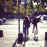 Photo taken at Heimeranplatz by Christoph B. on 10/14/2012