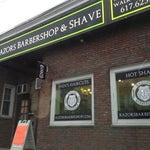 Photo taken at Razors Barbershop & Shave by Dan V. on 12/4/2012