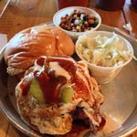 Photo taken at Edley's Bar-B-Que by Serena T. on 6/11/2013