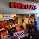 Photo taken at Five Guys by Steven D. on 1/18/2013