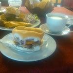 Photo taken at Restaurante Campestre El Alamo by Coral P. on 3/31/2013