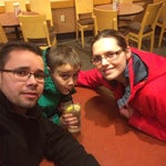 Photo taken at Panera Bread by Felipe M. on 2/22/2014