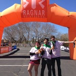 Photo taken at Ragnar Relay: Cape Cod - Finish Line by Carla D. on 5/4/2013