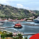 Photo taken at Port Of St. Thomas by Larry T. on 5/7/2013