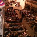 Photo taken at Peter-Paul-Kirche by Marco S. on 12/23/2013