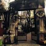 Photo taken at Cmentarz Powązkowski by Alejandra K. on 10/21/2013