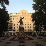 Фото Памятник Петру I в соцсетях