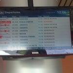 Timetable Announcement Board International Airport Palembang Sultan Mahmud Badarudin 2 Hours 19-08-2014 12:07