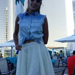Photo taken at Water Club Pool by Michael T. on 7/25/2014