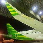 Photo taken at GMF AeroAsia by Alexander F. on 8/16/2014