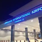 Новый, современный, красивый аэропорт, сразу видно, правительство делает большие ставки на туристов и с самого приезда удивляет ✈️🚁🚀📍🚩