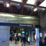 Photo taken at Waterloo London Underground Station by Kathrina H. on 12/3/2012