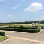 Tiny, cute airport. Even feel like a little park.