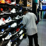 Photo taken at Foot Locker by Dukey D. on 5/5/2012
