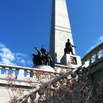 Photo taken at Lincoln Tomb State Historic Site by Shannon M. on 3/24/2012