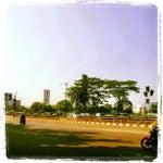 Photo taken at Jalan MT Haryono by Eldo T. on 5/22/2012