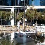 Photo taken at USA-71 BMW-Oracle Racing Boat by MarkMillerITPro ✔ ツ M. on 11/9/2011
