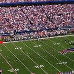Photo taken at Ralph Wilson Stadium by Tim B. on 10/9/2011