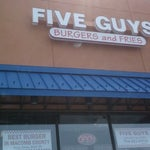 Photo taken at Five Guys by Steve K. on 4/15/2011