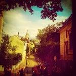 Photo taken at Place Dalida by Aurélia S. on 8/7/2012