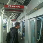 Photo taken at SFO AirTrain by David G. on 11/25/2011