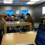 Photo taken at Apple Store, Bridge Street by Kimberly W. on 2/6/2012