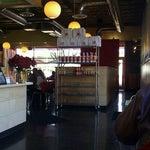 Photo taken at Zoës Kitchen by christopher l. on 1/5/2012