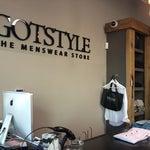 Photo taken at GOTSTYLE Menswear by Kal M. on 3/21/2012