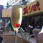 Photo taken at Shout! Restaurant & Lounge by Fannie H. on 3/21/2012