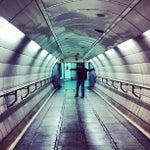 Photo taken at Waterloo London Underground Station by Lauren R. on 4/15/2012