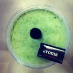 Photo taken at Aroma Espresso by Nate K. on 7/8/2012