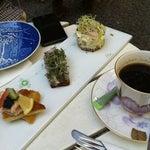 Photo taken at The Royal Smushi Café by Jeesun B. on 8/17/2012