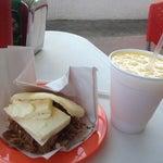 Photo taken at El Buen Sabor De La Arepa .C.A by Alejandra A. on 4/23/2012