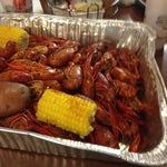 Photo taken at Shane's Seafood And Barbq by Heather D. on 4/20/2012