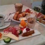 Photo taken at The Royal Smushi Café by zgr s. on 5/13/2012