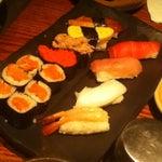 Photo taken at Sushi Tei by Maula H. on 2/19/2012