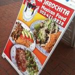 Photo taken at La Jarochita Mexican by Jahoska P. on 4/24/2012