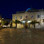 Photo taken at Agiou Titou Square by Ioannis A. on 8/16/2012