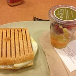 Photo taken at Panera Bread by DJ M. on 9/5/2012