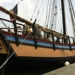 Photo taken at Duxbury Bay by Ben A. on 5/26/2012