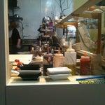 Photo taken at La Bonne Soupe Cafe by Jim Y. on 3/24/2012