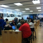 Photo taken at Apple Store, Southdale by Mary W. on 3/6/2012