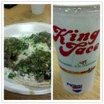 Photo taken at King Taco Restaurant by Joshua M. on 7/22/2012
