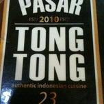 Photo taken at Pasar Tong Tong by Sony N. on 2/12/2012