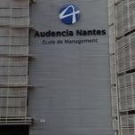 Photo taken at Audencia Nantes by Александр М. on 9/10/2012